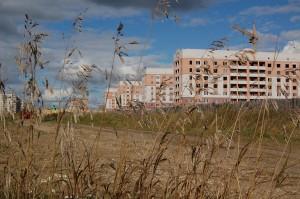 Будущее продолжение Уральского проспекта. Строительство МКРН « Фотеевский-2»